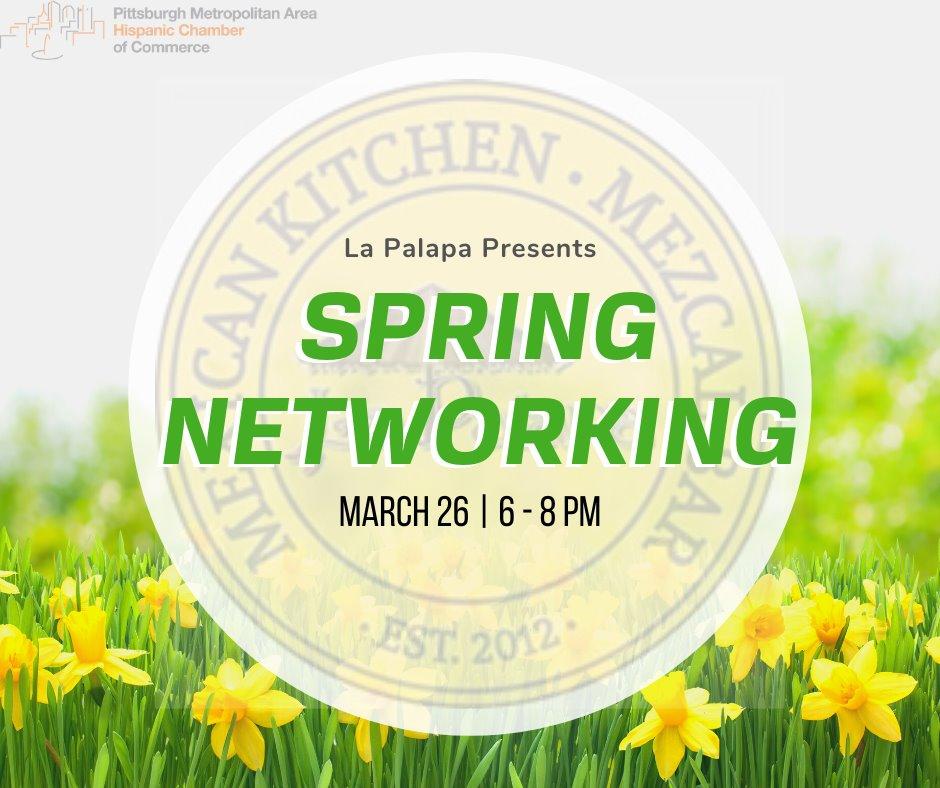 """Evento de """"Networking"""" de primavera"""