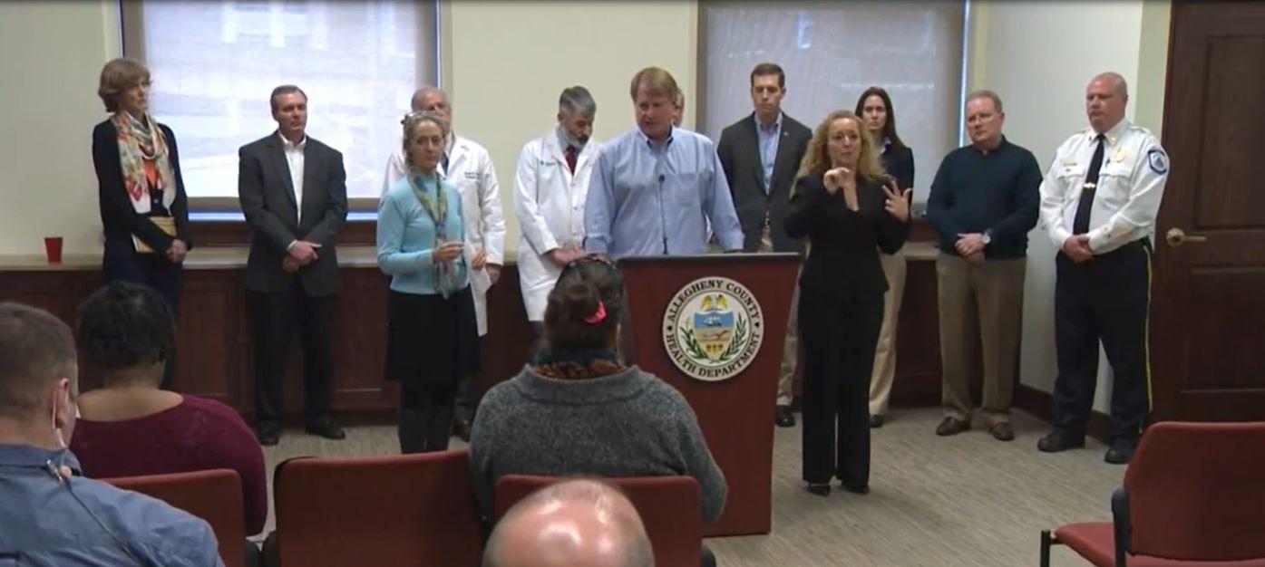 Confirman primeros 2 casos de Coronavirus en Pittsburgh