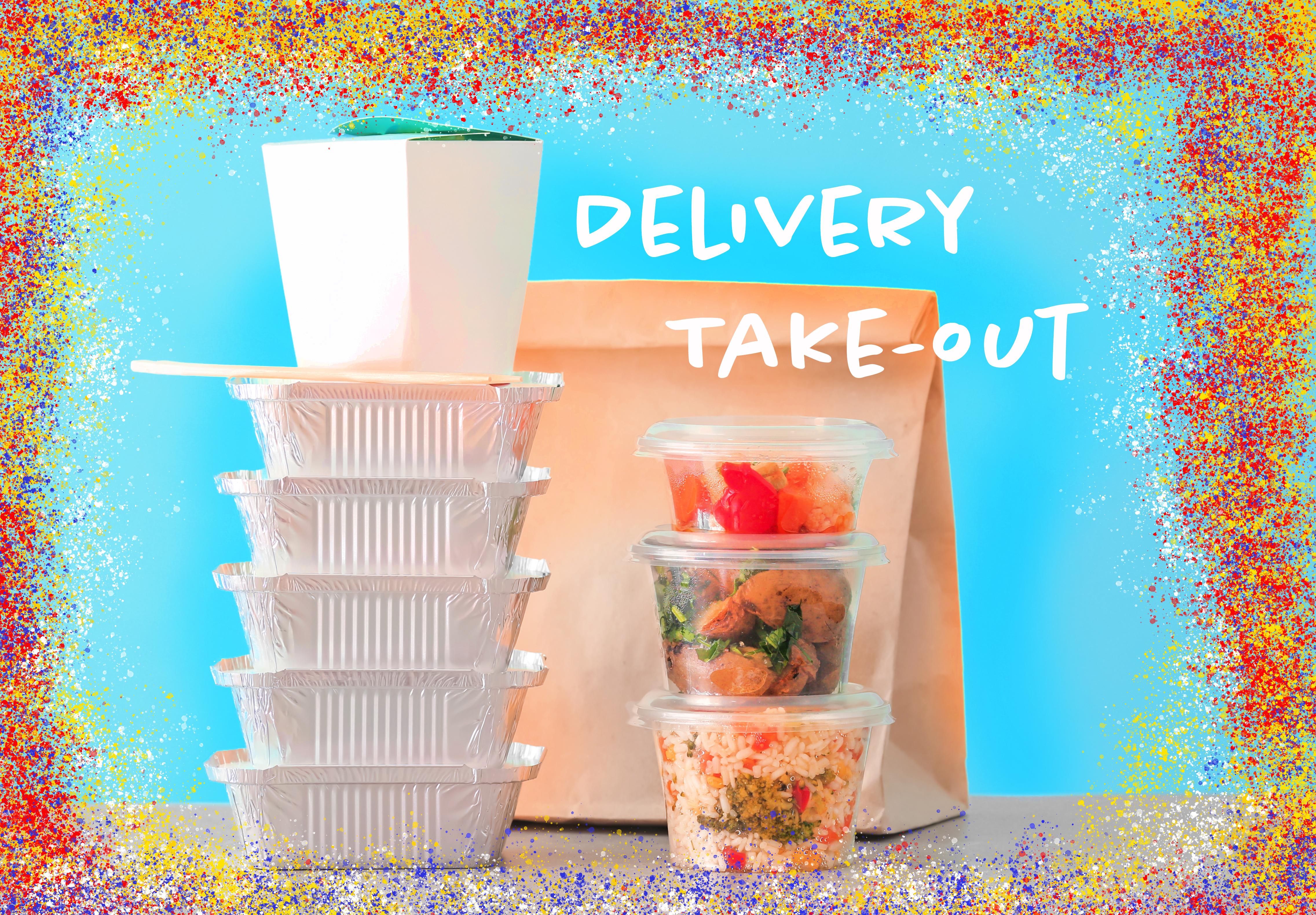Apoyo a restaurantes latinos locales que ofrecen entrega o servicio para llevar