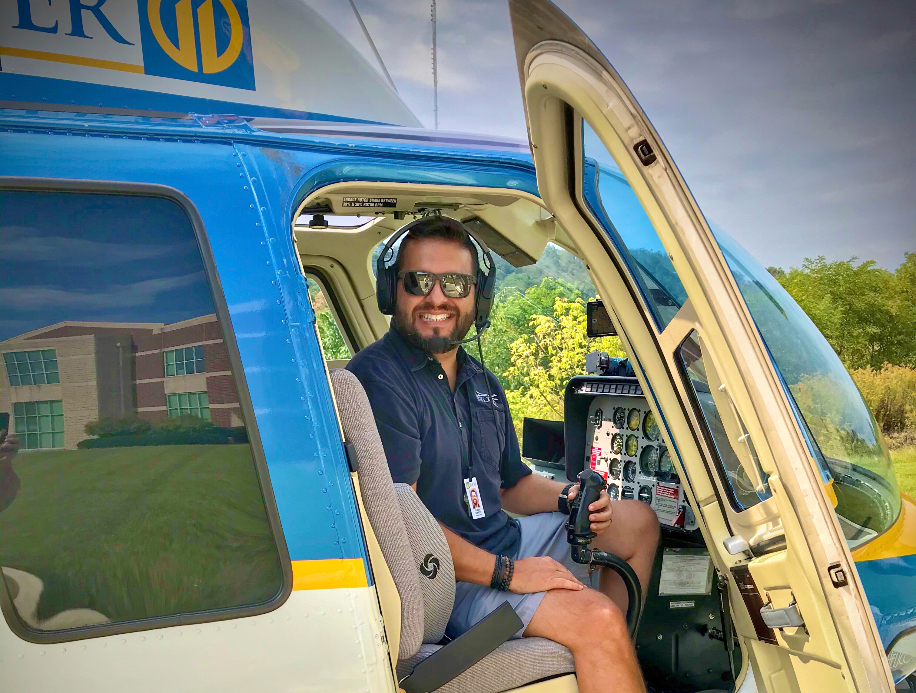 His Childhood Dream of Flying Became a Reality – Meet Ruben Campos!