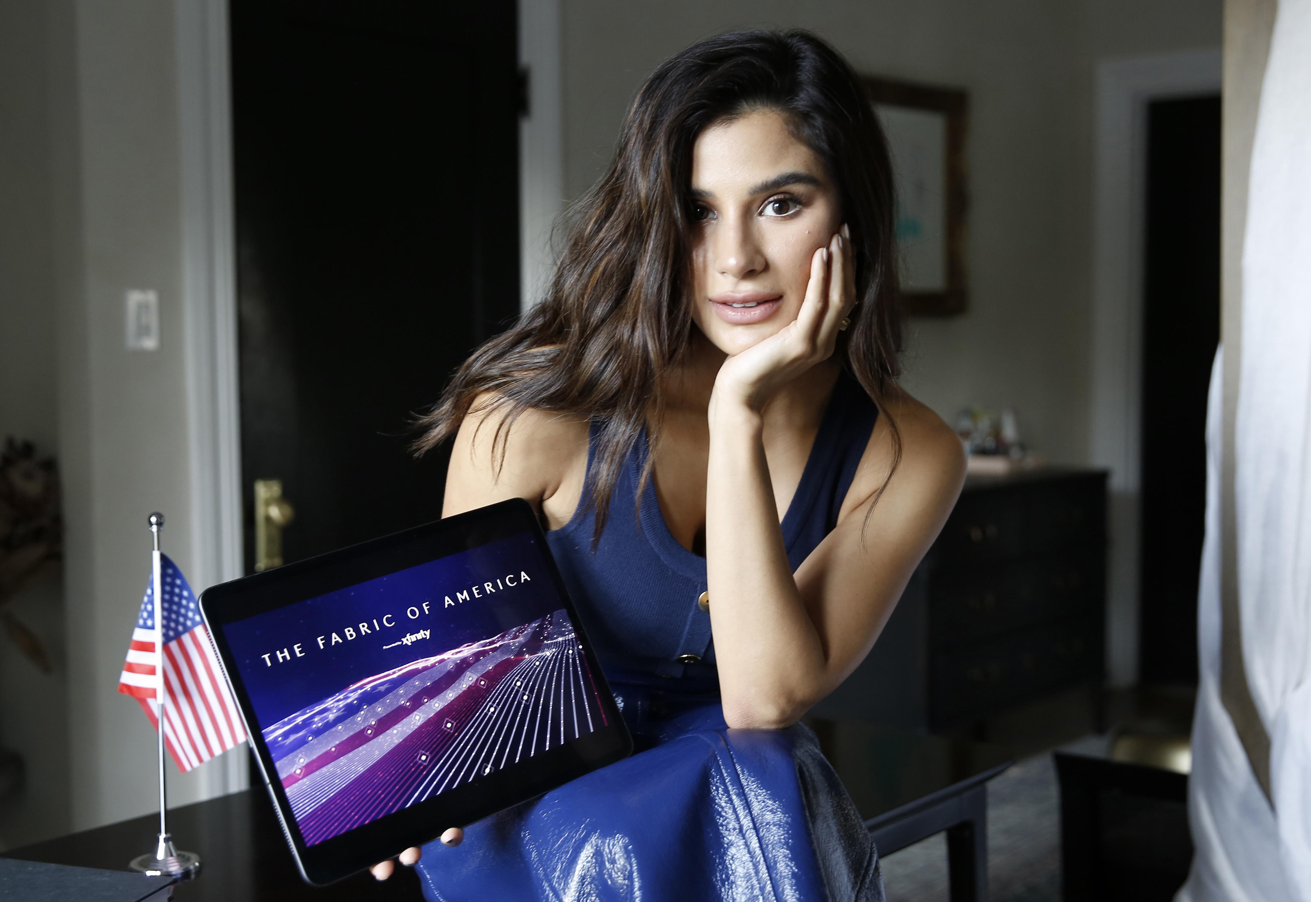 """Xfinity destaca los aportes hispanoamericanos al tapiz de la nación con su tributo digital """"The Fabric of America"""""""