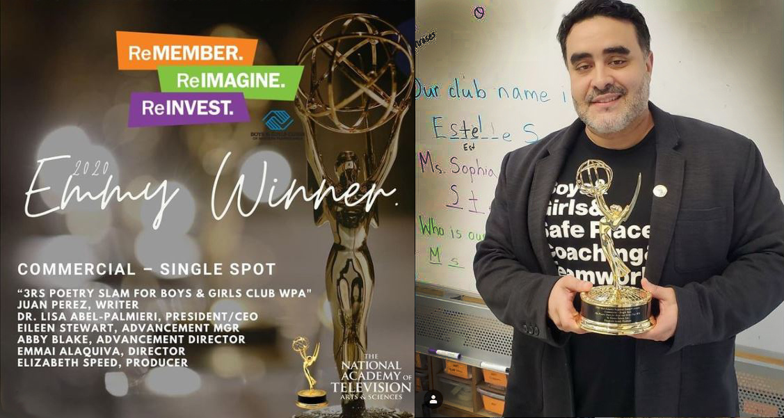 Juan Perez and his EMMY Award-winning journey with the Boys and Girls Club of Western PA
